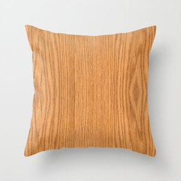 Wood Grain 4 Throw Pillow