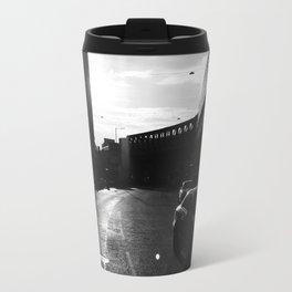 London in Monochrome Travel Mug