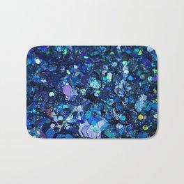 It Was All Electric Blue Bath Mat