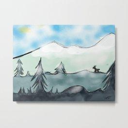 Snow dweller Metal Print