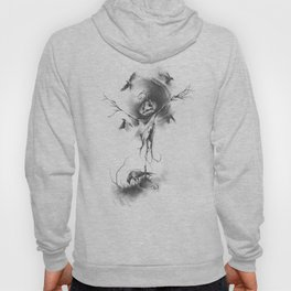 The Circling of Crows Hoody