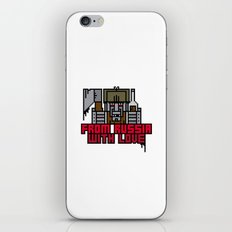 From Russia With Love iPhone & iPod Skin