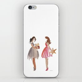The Gift of Friendship iPhone Skin