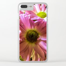 Sheltering Florals Clear iPhone Case