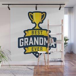 Best Grandma Ever Wall Mural