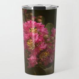 Pink Crepe Myrtle Blossom Travel Mug
