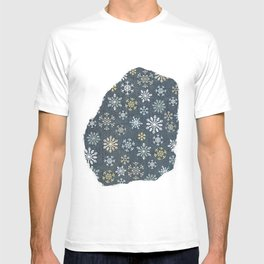 night time snow  T-shirt