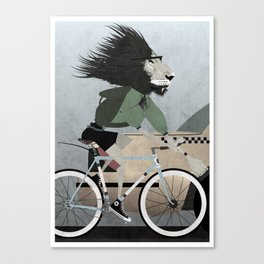 Alleycat Races Canvas Print