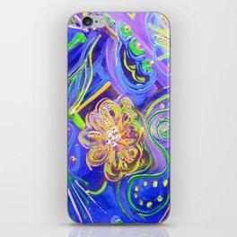 Lucky Wishbone Blues iPhone Skin