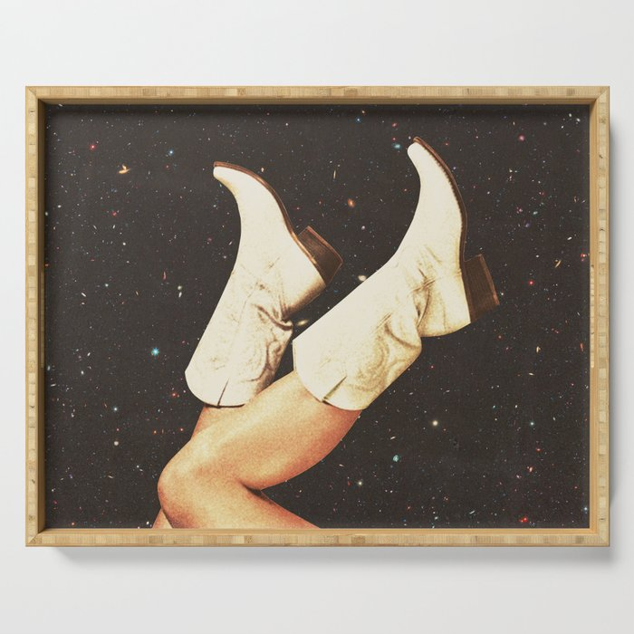 These Boots - Space Serving Tray