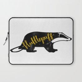 Hufflepuff Badger Laptop Sleeve