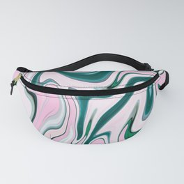 Cute Colorful Marble Pattern Fanny Pack