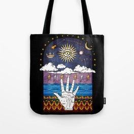 Esoteric prayer Tote Bag