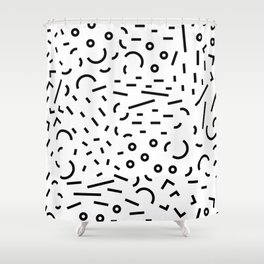 Favorite shape abstract Shower Curtain