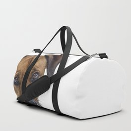 Puppy Dog Eyes Duffle Bag