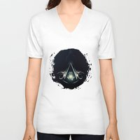 assassins creed V-neck T-shirts featuring Assassins Creed by albert Junior