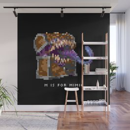 M is for Mimic Wall Mural