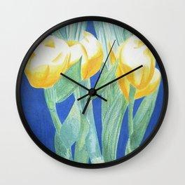 Beautiful orchid Wall Clock