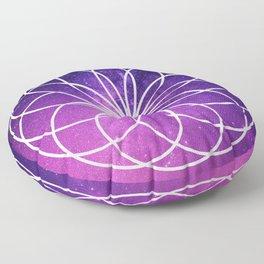 GALAXY LOOP MANDALA Floor Pillow