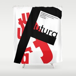 Futura II Shower Curtain
