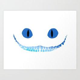Cheshire Smile Art Print