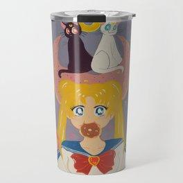Hungry magical girl Travel Mug