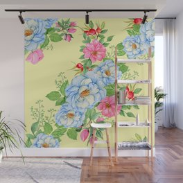 Vintage Floral Pattern No. 4 Wall Mural