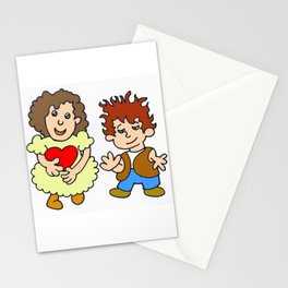 Give me your heart by Laila Cichos Stationery Cards