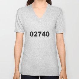 02740 Unisex V-Neck