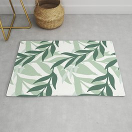 Leaves And Plants Rug