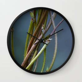 Swirly Vines Wall Clock