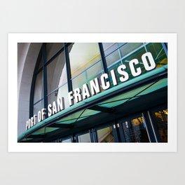 Port of San Francisco Art Print