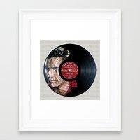 elvis presley Framed Art Prints featuring Elvis Presley by Melissa Jane