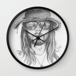 Jared Leto Wall Clock