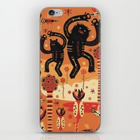 bruno mars iPhone & iPod Skins featuring Les danses de Mars by Exit Man