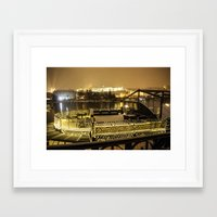 prague Framed Art Prints featuring Prague 5 by Veronika