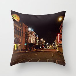 Streets of America Throw Pillow