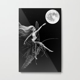 I Wish I had Wings Metal Print