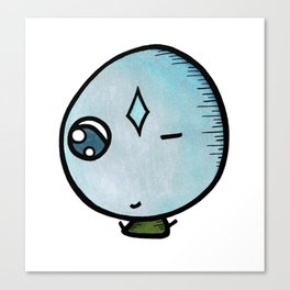 Winky the Monster Canvas Print