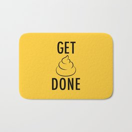 Get Shit Done Bath Mat