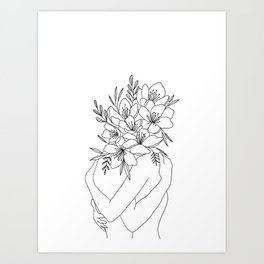 Love for Flowers Art Print