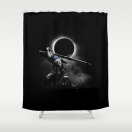 The Abyss Knight Shower Curtain