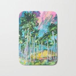 Field of Palms Bath Mat