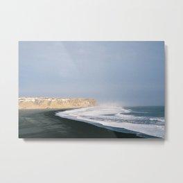 Seascape Iceland Metal Print