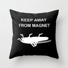 GrasshopperMAG Throw Pillow