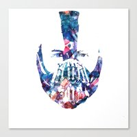 bane Canvas Prints featuring Bane by NKlein Design