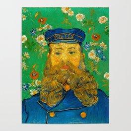 Vincent van Gogh - Portrait of Postman Poster