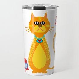 Mr Cat Travel Mug