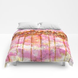 Fire canopy Comforters