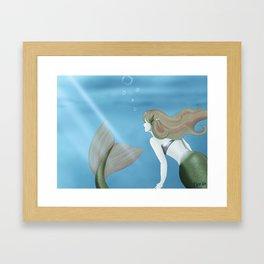 Sirene Framed Art Print